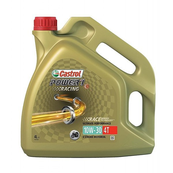 Aceite Castrol 10W30 Racing 4l2