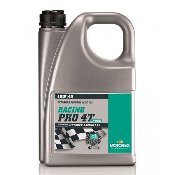 Aceite Motorex Racing Pro 10w40 Cross 4T 4L