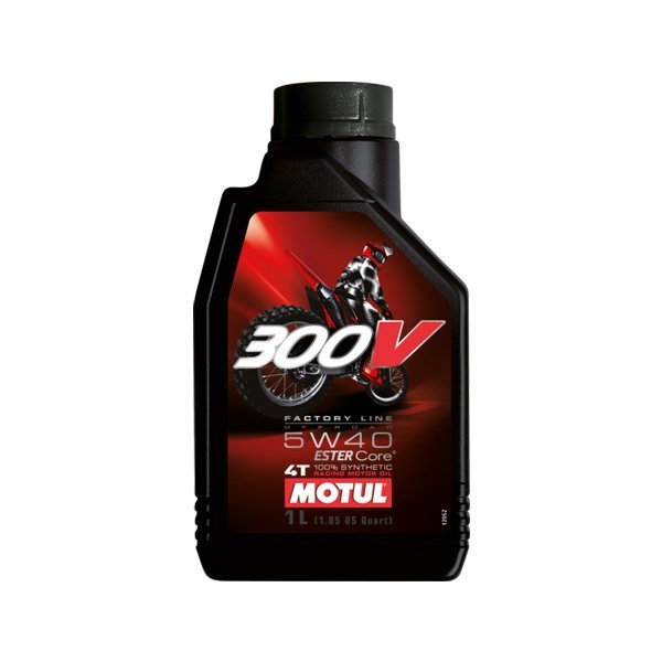 Aceite Motul 300V 5W40 Off Road 1l