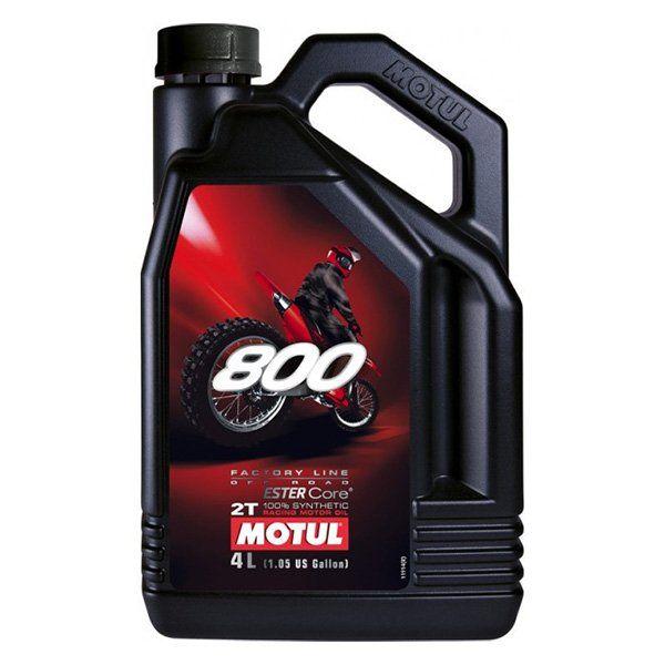 Aceite Motul 800 Factory line Off Road 2 tiempos