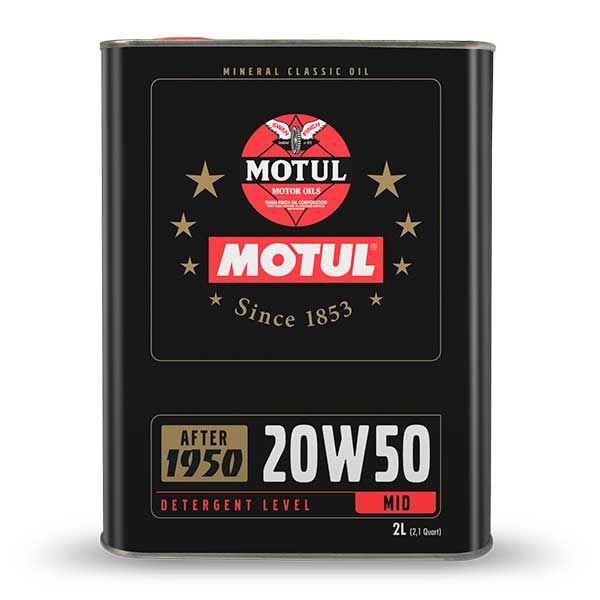 Aceite Motul Classic 20W50 2L