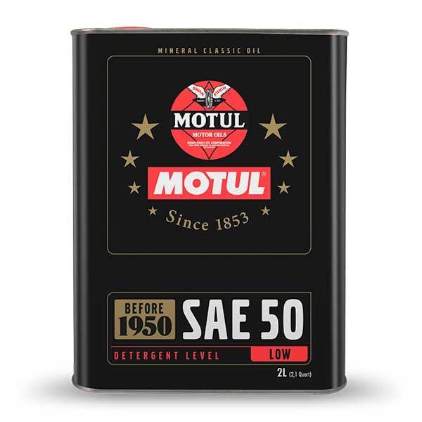 Aceite Motul Classic 50W 2L
