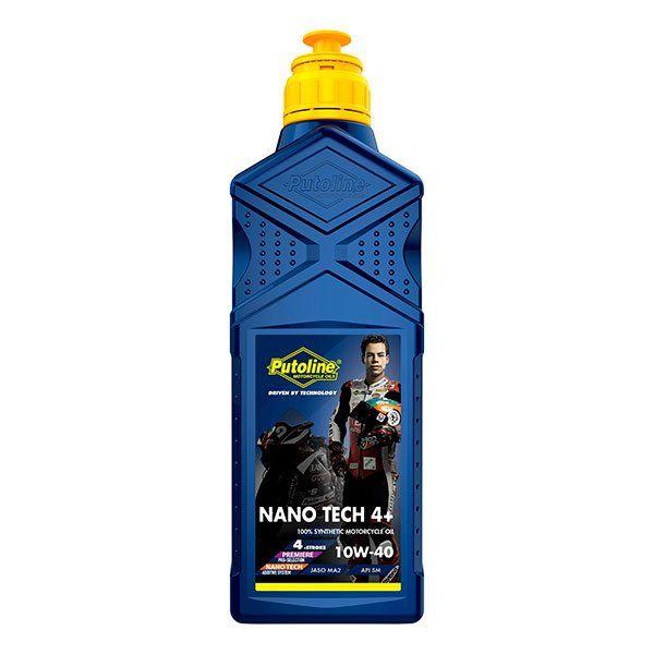 Aceite Putoline Off-Road Nano Tech4+ 10W40 1L