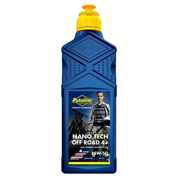 Aceite Putoline Off-Road Nano Tech4+ 15W50 1L