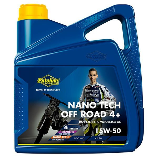 Aceite Putoline Off-Road Nano Tech4+ 15W50 4L