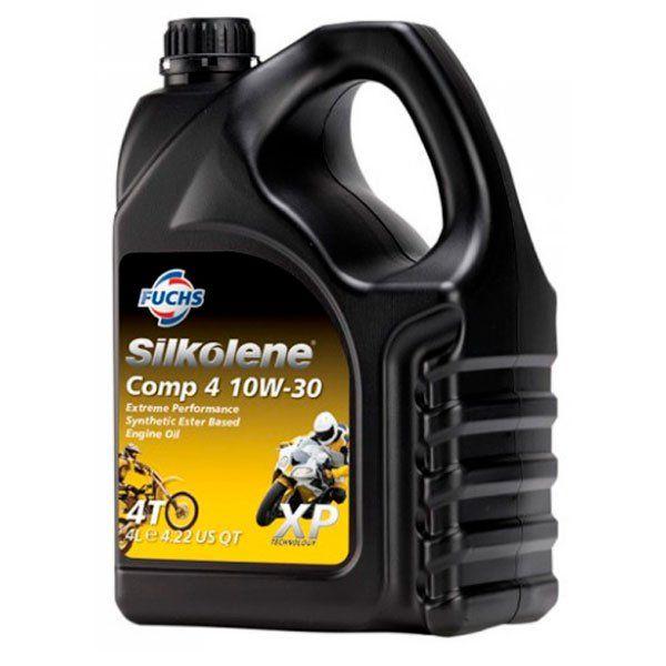 Aceite Silkolene Comp 4 10W30 XP 4L