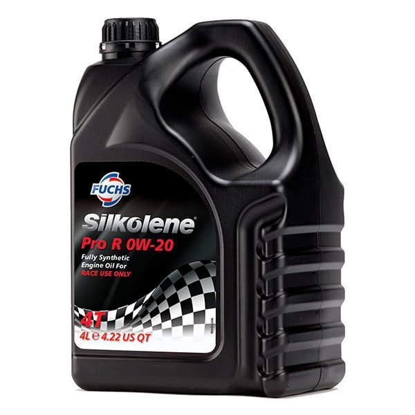 Aceite Silkolene Pro R 0W20 4L