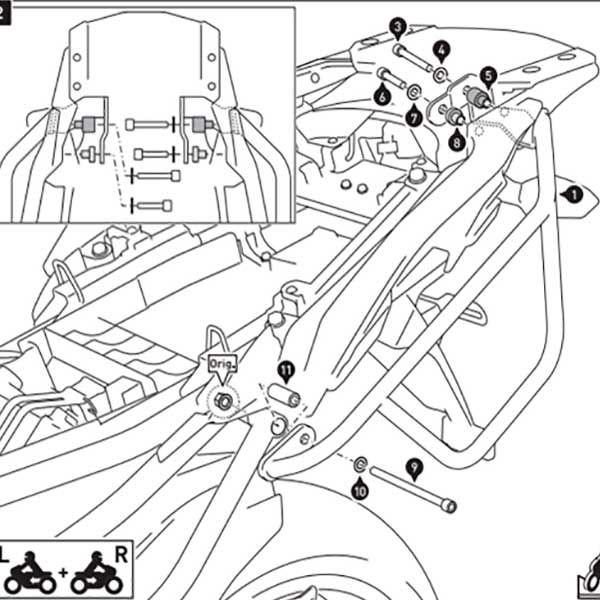Alforjas Laterales Sw Motech Dakar Kawasaki Versys