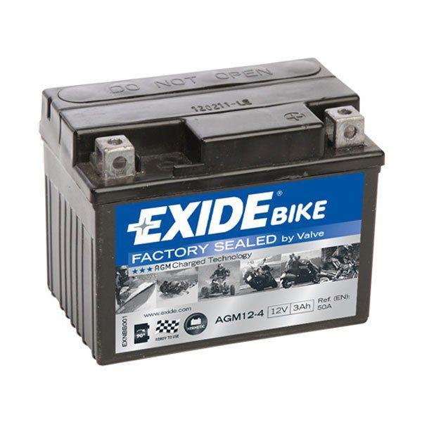 Bateria Exide AGM12-4