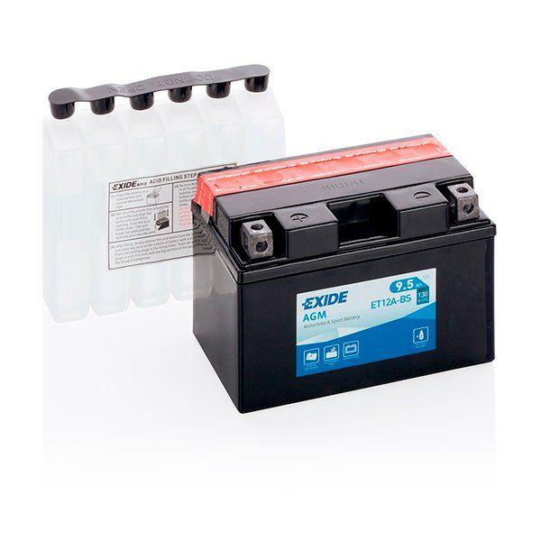 Bateria Exide YT12A-BS
