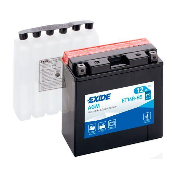 Bateria Exide YT14B-BS