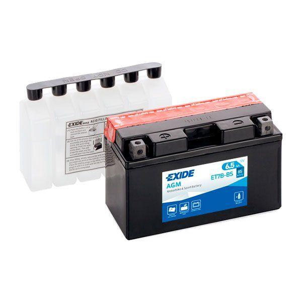 Bateria Exide YT7B-BS