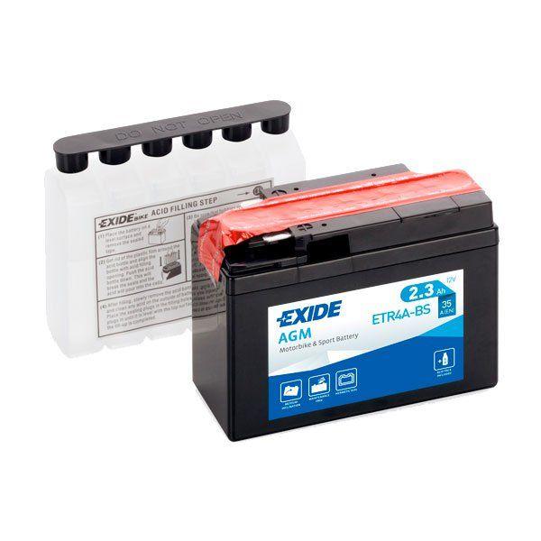 Bateria Exide YTR4A-BS
