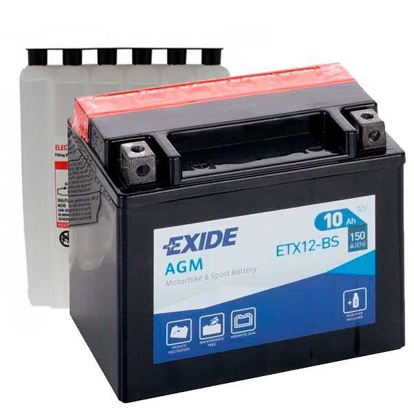 Bateria Exide YTX12-BS