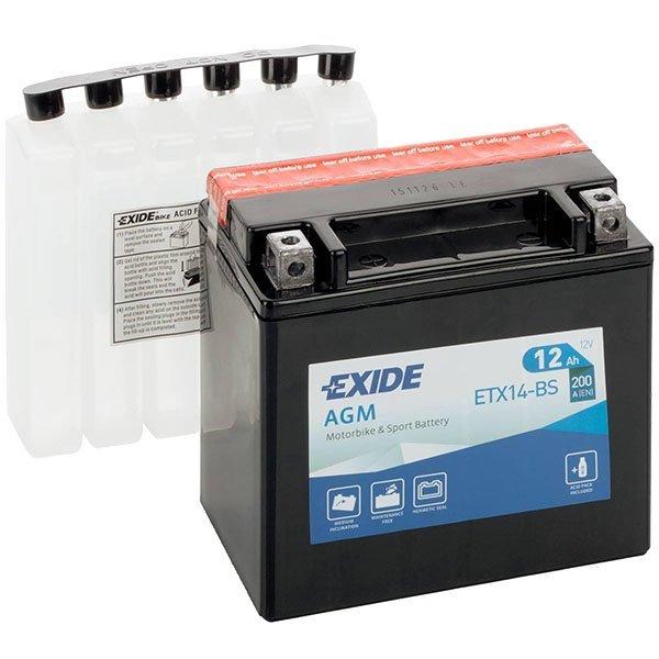 Bateria Exide YTX14-BS