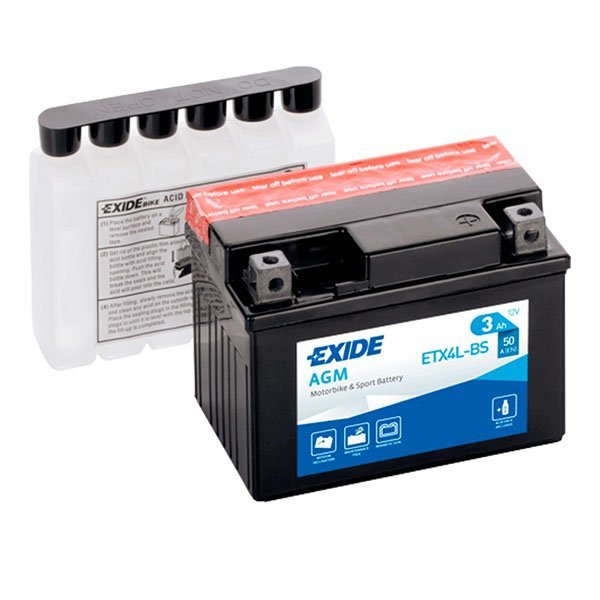 Bateria Exide YTX4L-BS