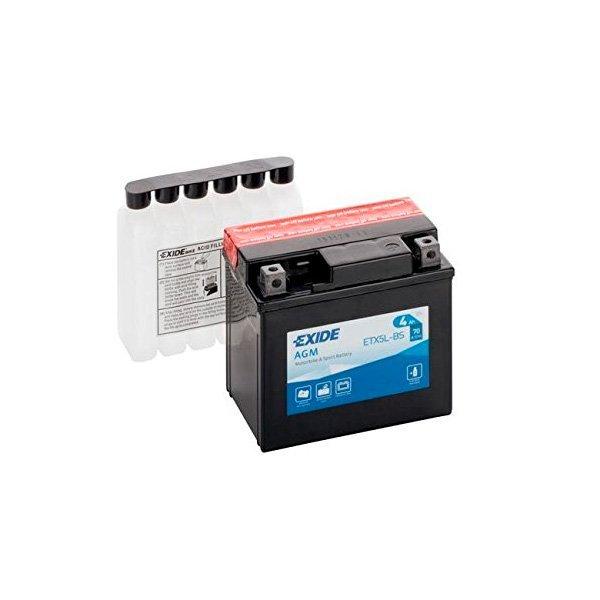 Bateria Exide YTX5L-BSv