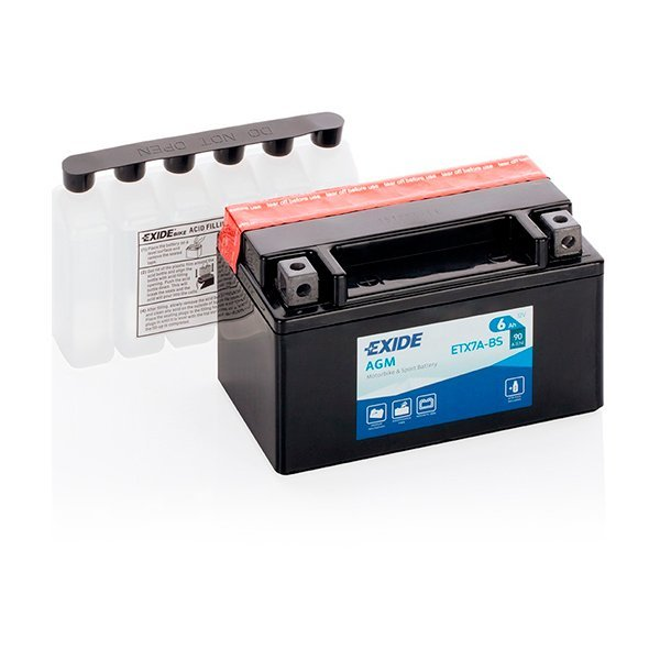 Bateria Exide YTX7A-BS