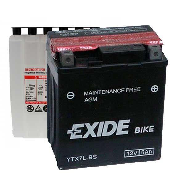 Bateria Exide YTX7L-BS