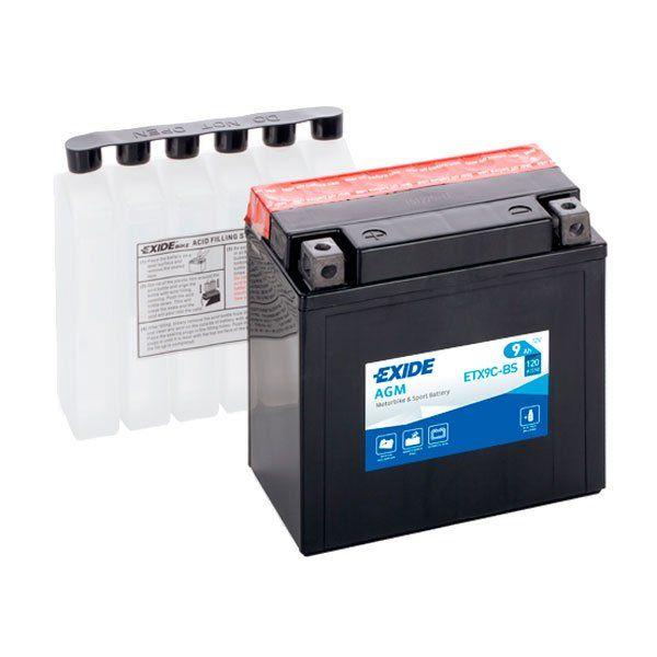 Bateria Exide YTX9C-BS