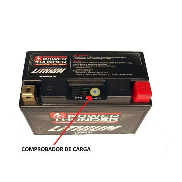 Bateria Litio Power Thunder YTX7L-BS-1