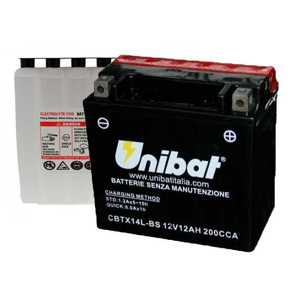 Bateria Unibat YTX14L-BS