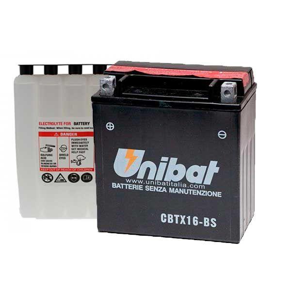 Bateria Unibat YTX16-BS