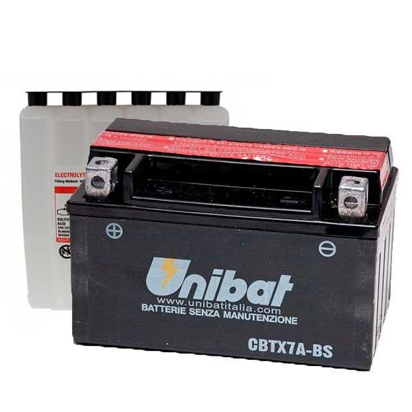 Bateria Unibat YTX7A-BS