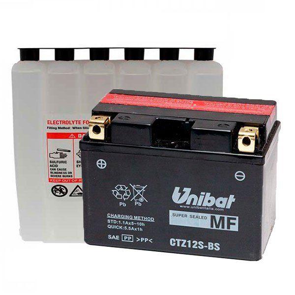 Bateria Unibat YTZ12S BS