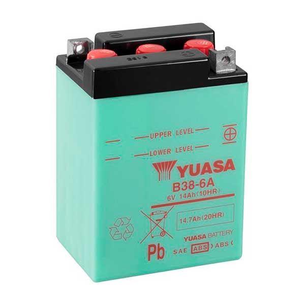 Bateria Yuasa B38-6A (sin acido incluido)