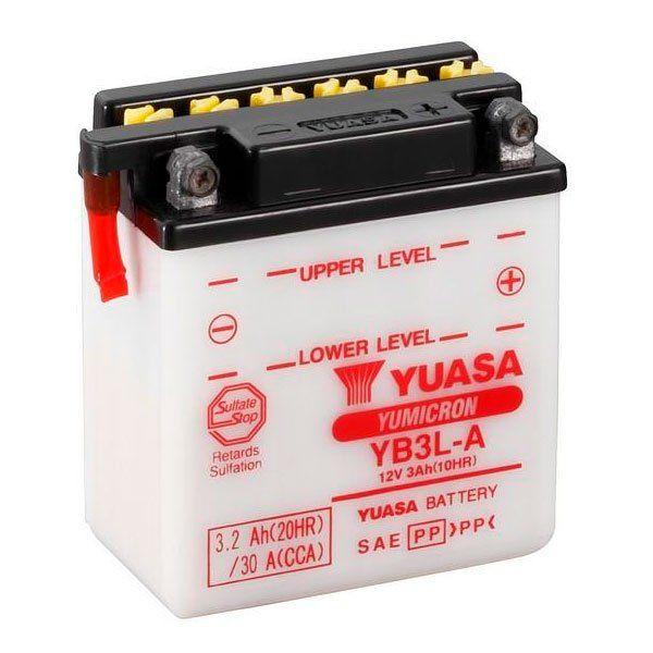 Bateria Yuasa YB3L-A Acido no incluido
