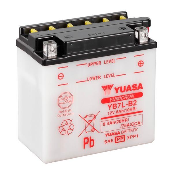 Bateria Yuasa YB7L-B