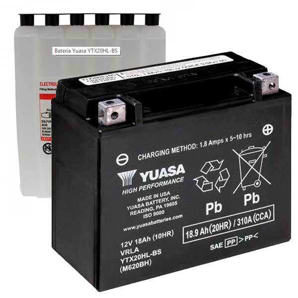 Bateria Yuasa YTX20HL-BS