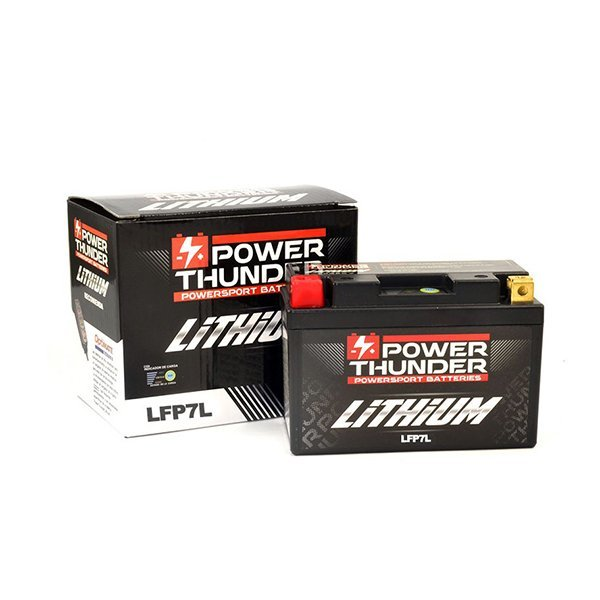 Bateria de Litio Power Thunder YB7L-B