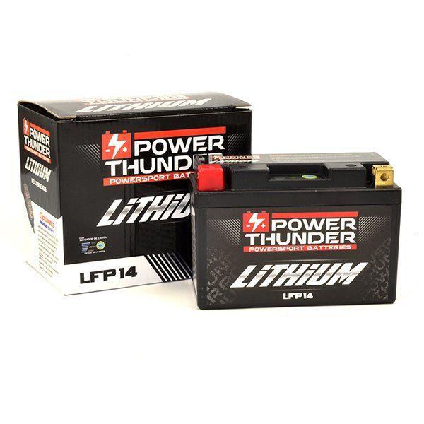 Bateria de Litio Power Thunder YTX14-BS