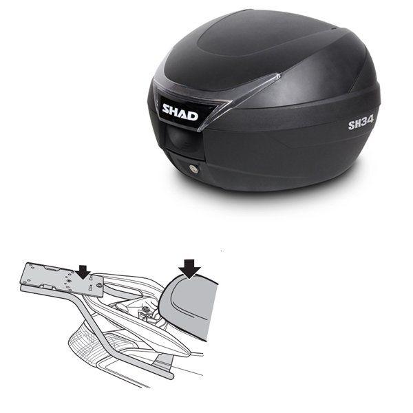 Baul Shad SH34 Yamaha Nmax 125
