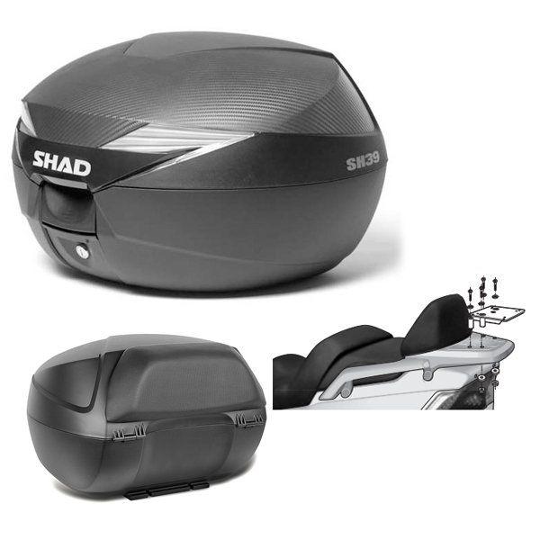 Baul Shad SH39 Daelim S2 con respaldo