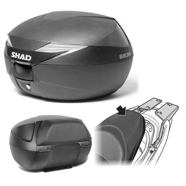 Baul Shad SH39 Honda Forza 125 con respaldo
