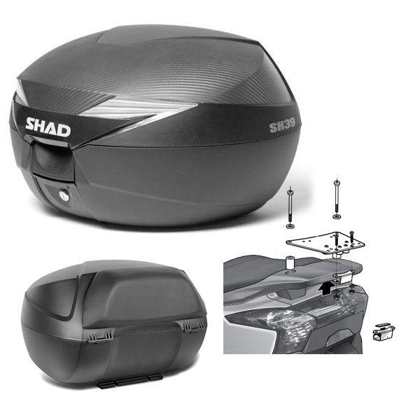 Baul Shad SH39 Superdink con respaldo