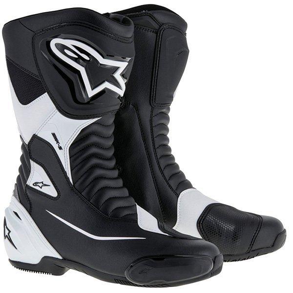 Botas Alpinestars SMX S negras blancas