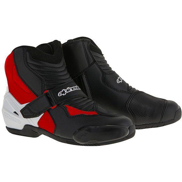 Botas Alpinestars Smx-1 R Negro Blanco Rojo