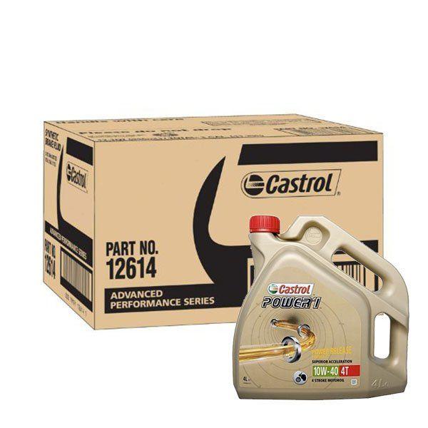 Caja Aceite Castrol Power1 10W40 4L