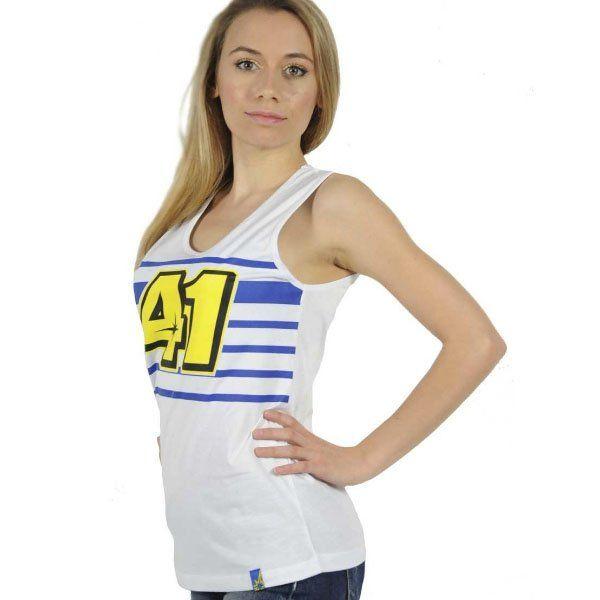 Camiseta Aleix Espargaro Lady Blanco-1