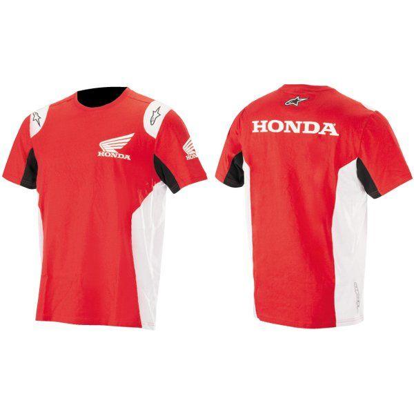 Camiseta Alpinestars Honda 01