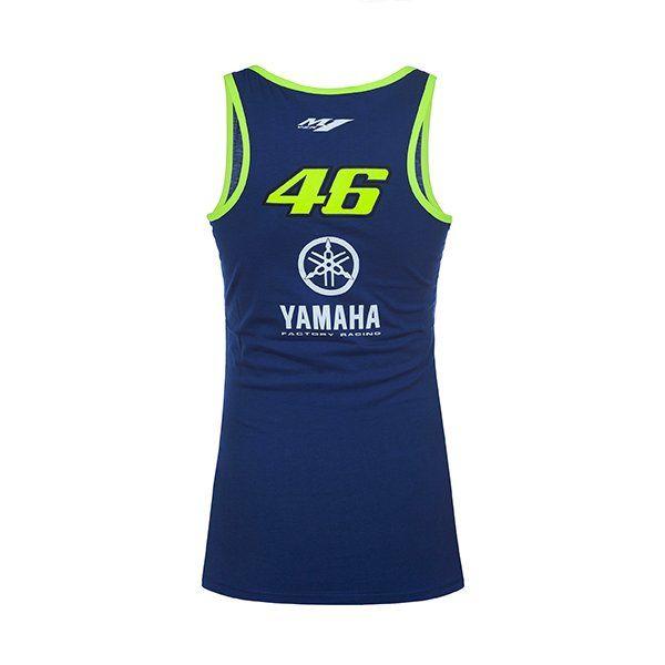 Camiseta Chica Top Valentino Rossi Yamaha.