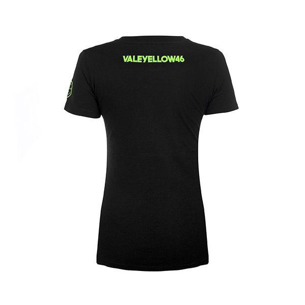 Camiseta Chica VR46 Valeyellow