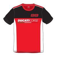 Camiseta Ducati Jorge Lorenzo Rojo Negro