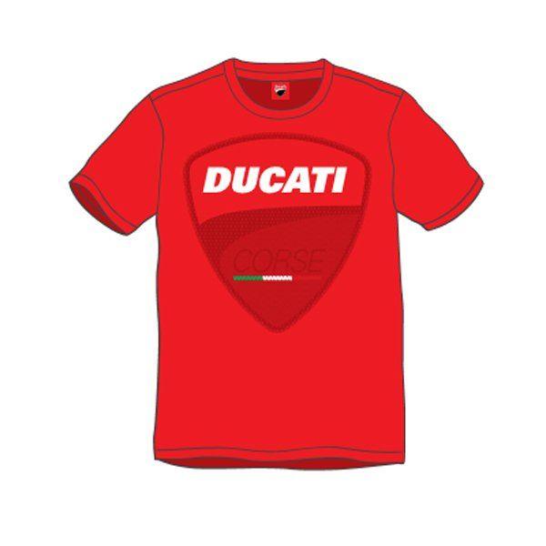 Camiseta Ducati Logo Rojo