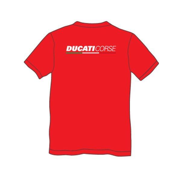 Camiseta Ducati Logo Rojo2