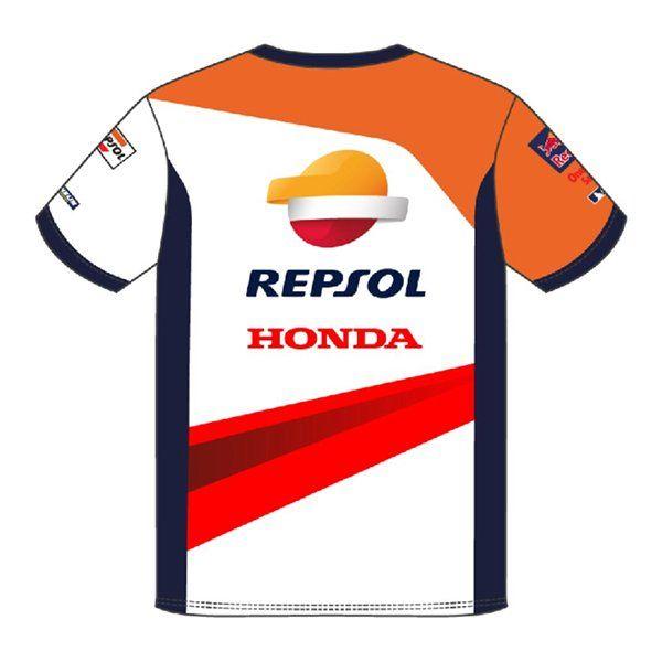 Camiseta Honda Repsol Team Blanco